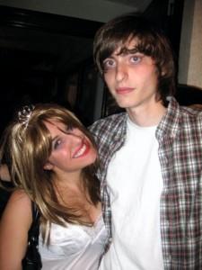 Courtney Love and Kurt Cobain - age 21 (again)